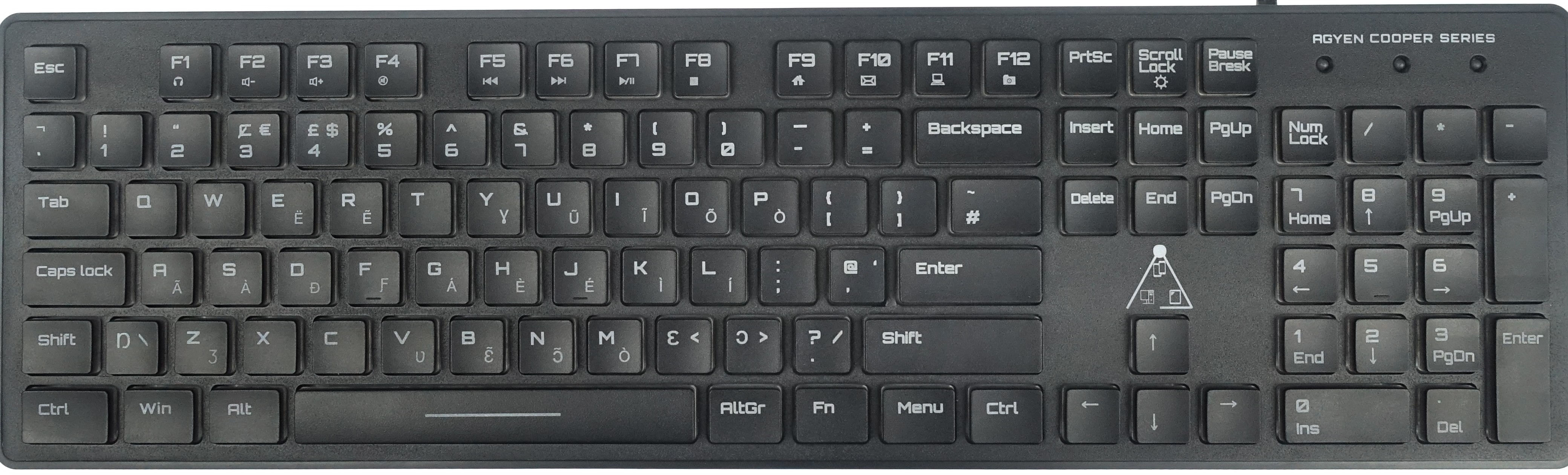 AiST Branded Universal Keyboard (GH) Desktop